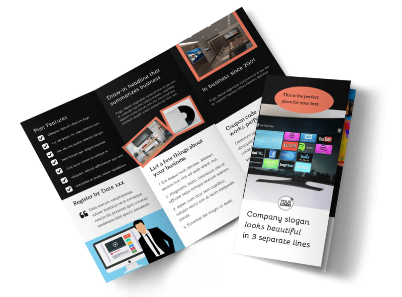 DVD Video Production Flyer Template MyCreativeShop