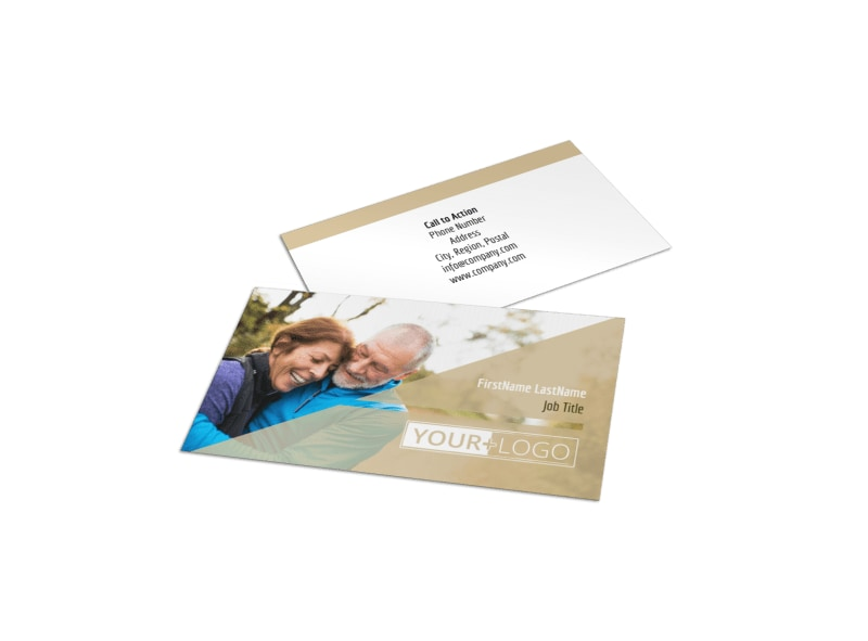 Medical Insurance Business Card Template MyCreativeShop - medical business card templates