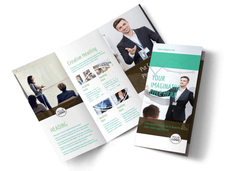 Real Estate Conference Brochure Template MyCreativeShop - conference brochure template