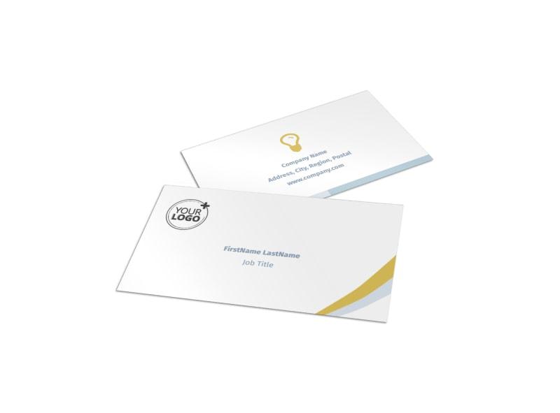 Digital Marketing Agency Business Card Template MyCreativeShop