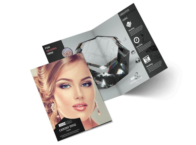 Jewelry Store Brochure Template MyCreativeShop