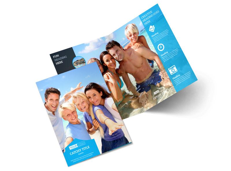Getaway Beach Resort Brochure Template MyCreativeShop