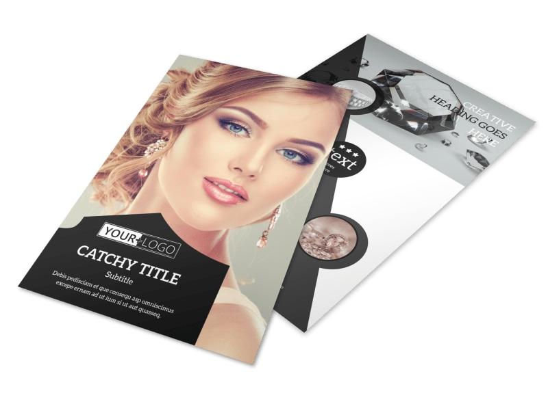 Jewelry Store Flyer Template MyCreativeShop