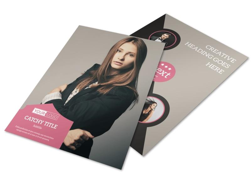 Fashion Agency Flyer Template MyCreativeShop