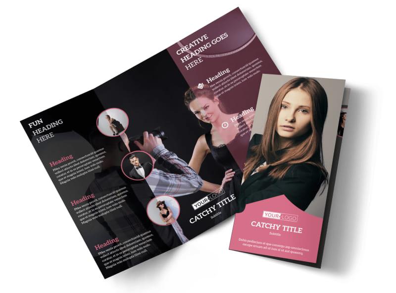 Fashion Agency Brochure Template MyCreativeShop - fashion design brochure template