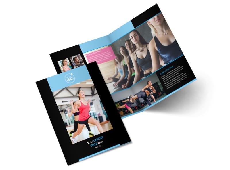 Upscale Fitness Gym Brochure Template MyCreativeShop
