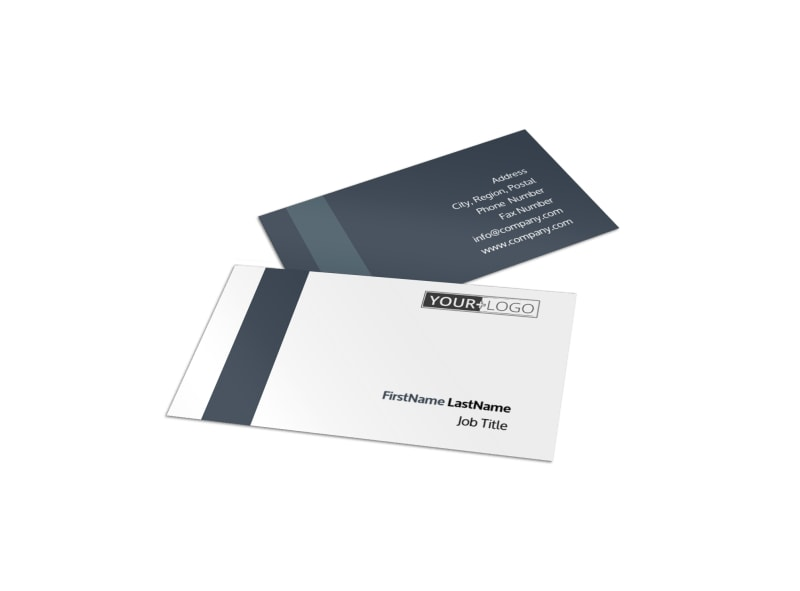 Chemistry Screening Library Business Card Template MyCreativeShop