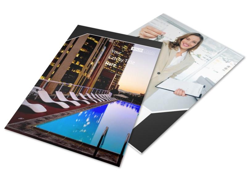Condominium Real Estate Flyer Template MyCreativeShop