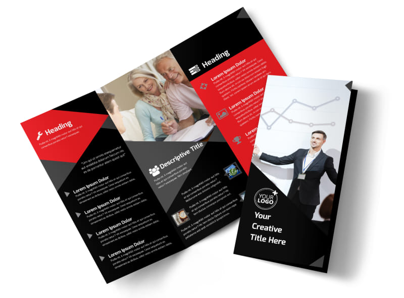 Consulting Services Door Hanger Template Sizes | Contract Rate