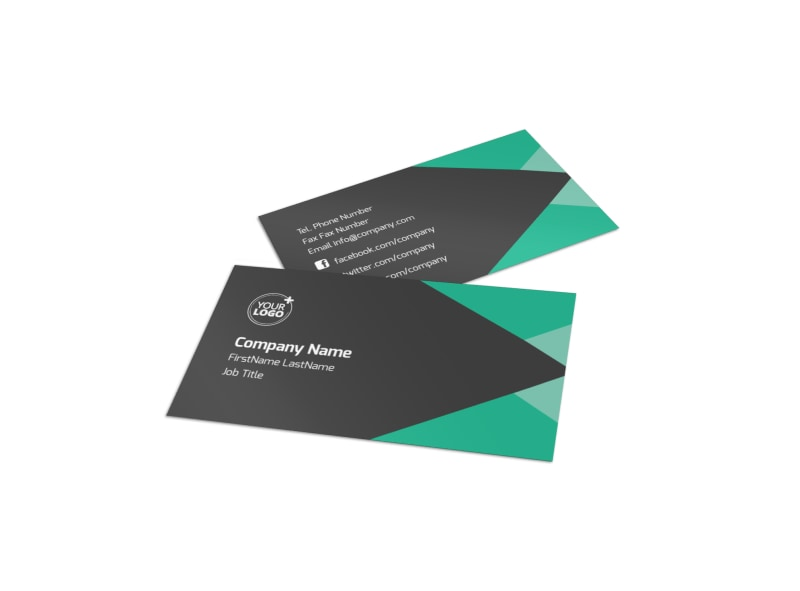 Computer Education Business Card Template MyCreativeShop