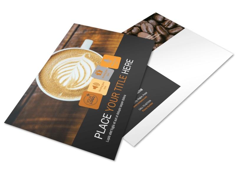 Urban Coffee Shop Brochure Template MyCreativeShop