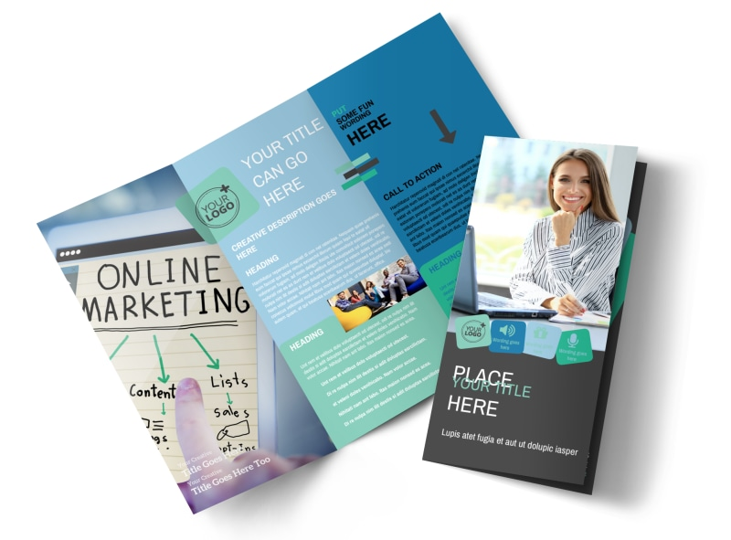 Marketing Agency Brochure Template MyCreativeShop - marketing brochure