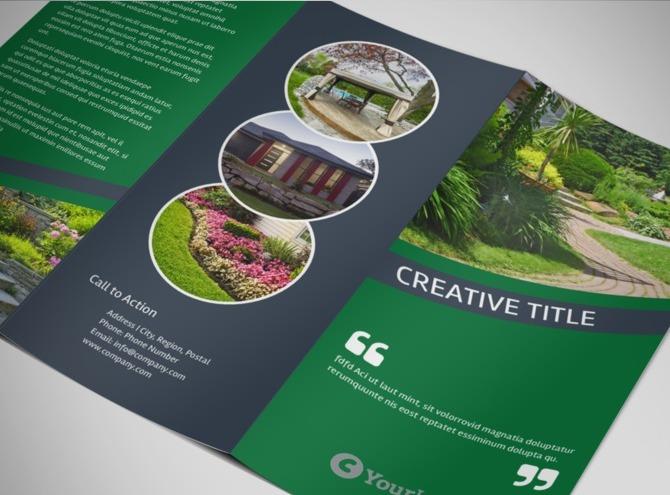 modern landscaping logo - Google Search PrePress Pinterest - tri fold brochure