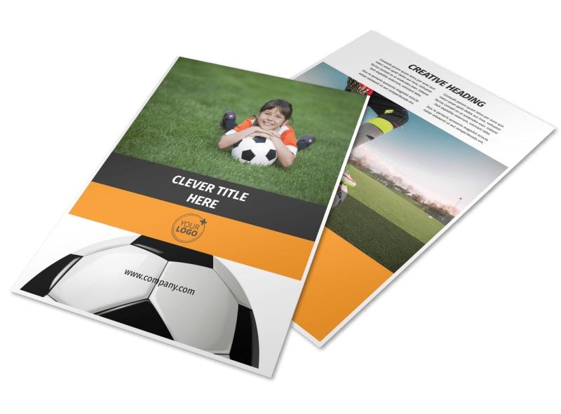 Weekend Soccer Camp Flyer Template MyCreativeShop