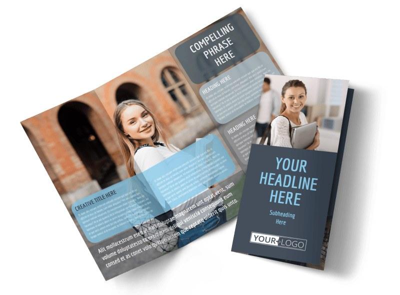 University Brochure Template College University Prospectus Brochure