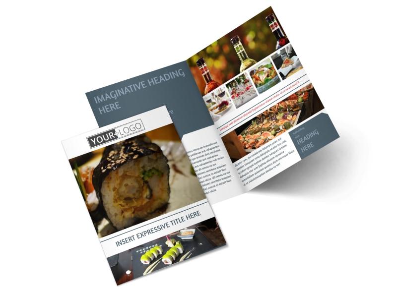 Fine Dining Restaurant Brochure Template MyCreativeShop