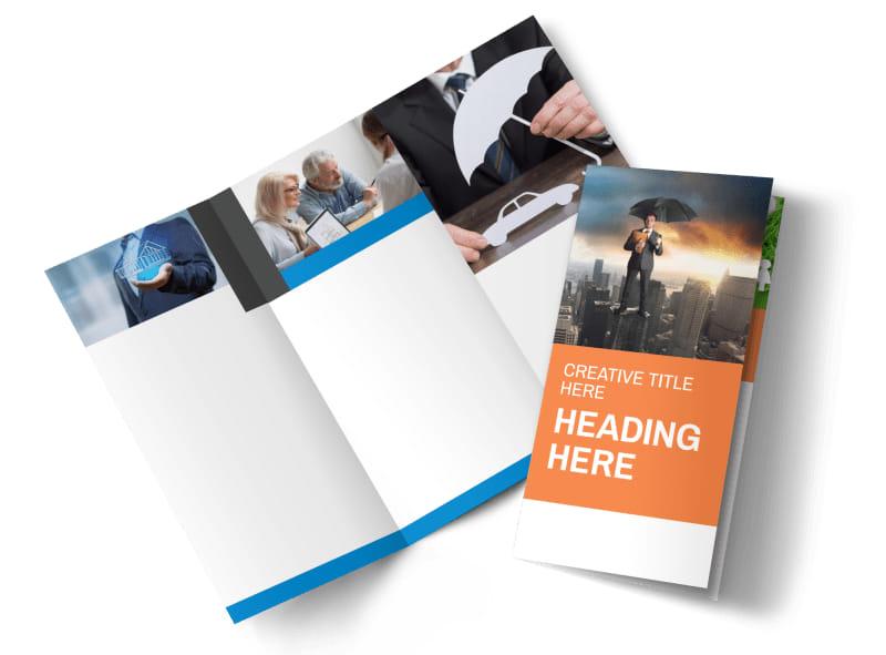 Family Insurance Agency Brochure Template MyCreativeShop - pricing brochure template