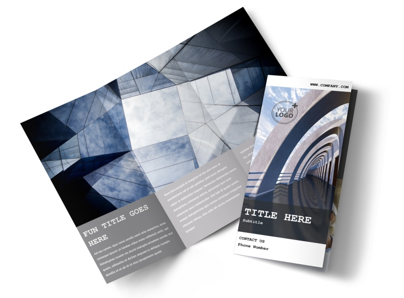 Modern Architect Brochure Template MyCreativeShop - architecture brochure template