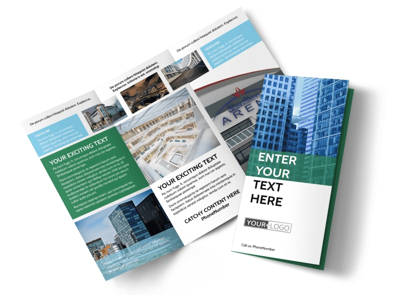 Commercial Real Estate Brochure Template MyCreativeShop - property brochure