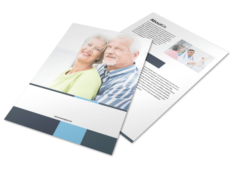 Chiropractor Clinic Flyer Template MyCreativeShop
