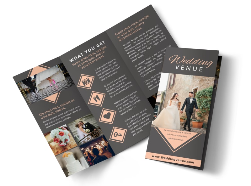 Wedding Venue Brochure Template MyCreativeShop - wedding brochure template