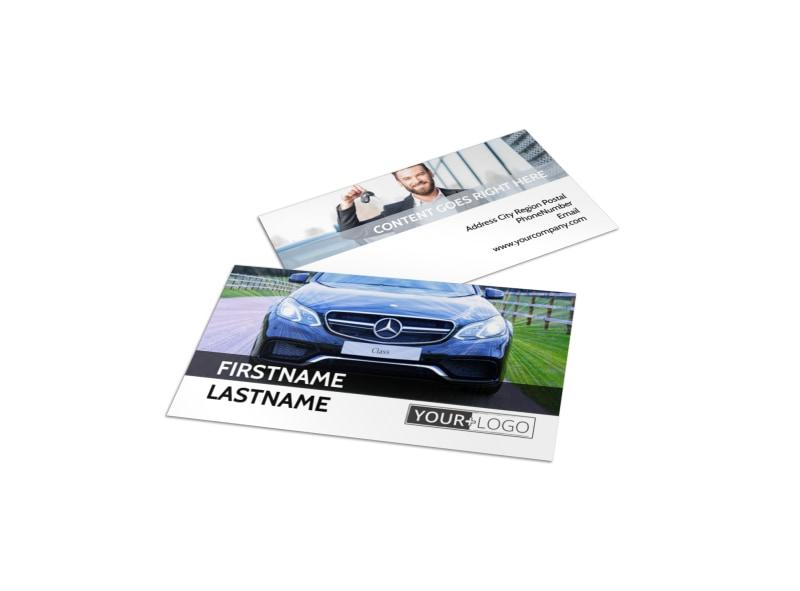 Luxury Auto Dealer Business Card Template MyCreativeShop