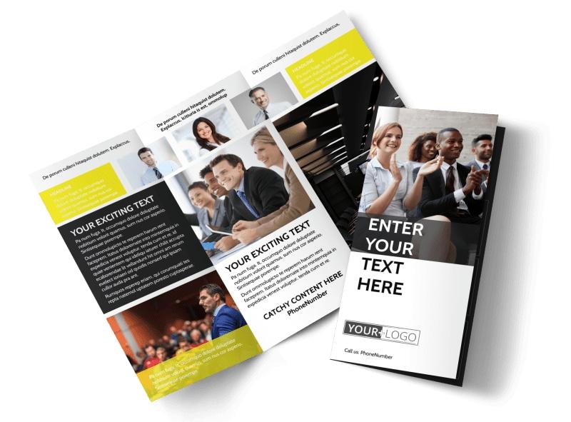 Business Development Conference Brochure Template MyCreativeShop - conference brochure template