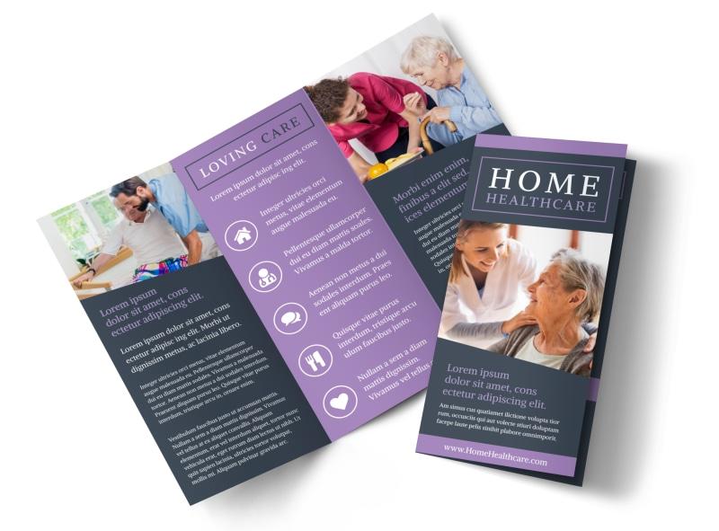 Home Healthcare Brochure Template MyCreativeShop - healthcare brochure