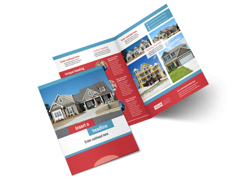 General Real Estate Brochure Template MyCreativeShop