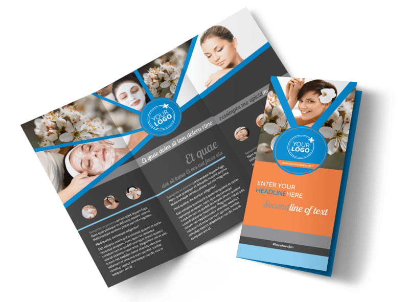 Skin Care Brochure Template MyCreativeShop