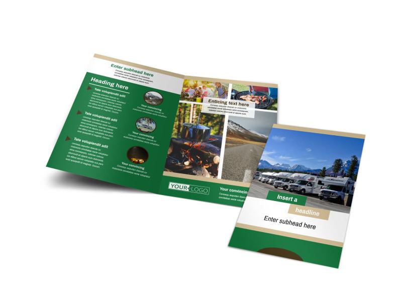 RV Sales Brochure Template MyCreativeShop