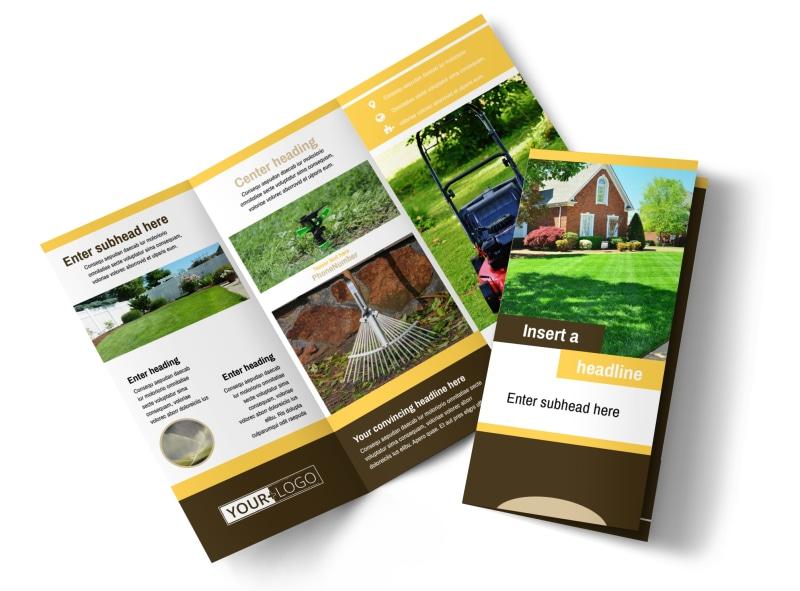 Lawn Care Brochure Template MyCreativeShop - lawn services flyer