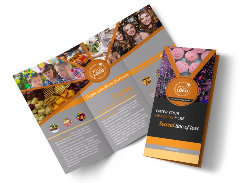 Party Event Services Brochure Template MyCreativeShop - services brochure