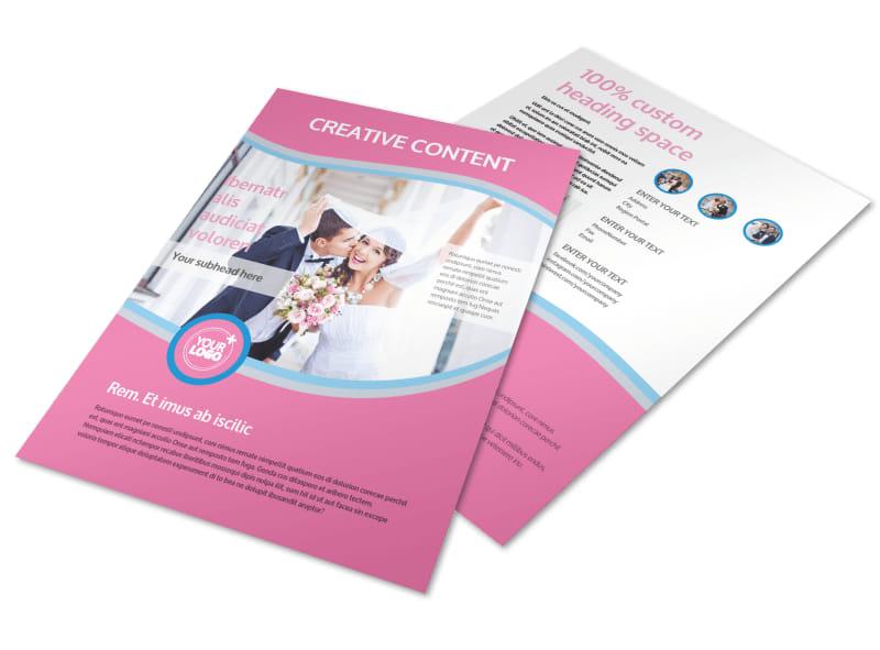 Wedding Photography Flyer Template MyCreativeShop - wedding flyer