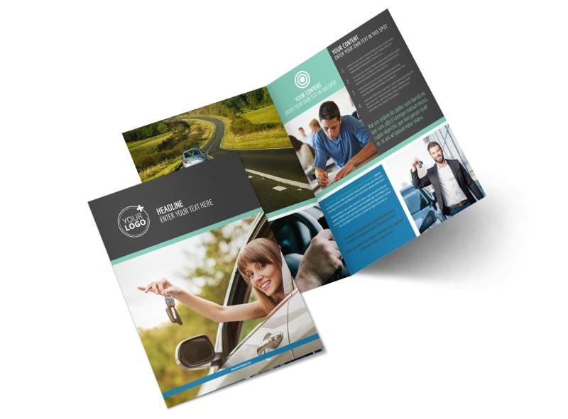 Local Driving School Brochure Template MyCreativeShop
