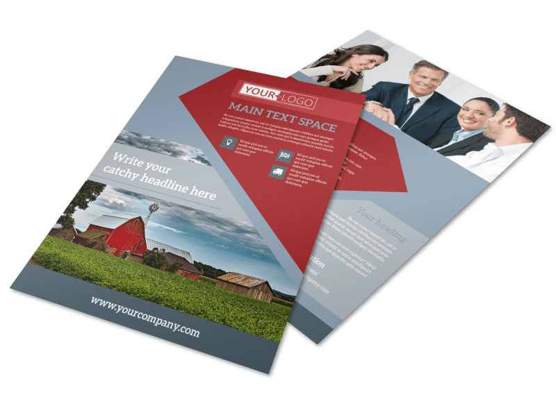 Farmers Insurance Flyer Template MyCreativeShop - insurance flyer templates