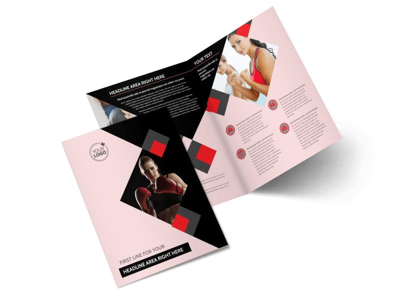 Boxing Gym Brochure Template MyCreativeShop