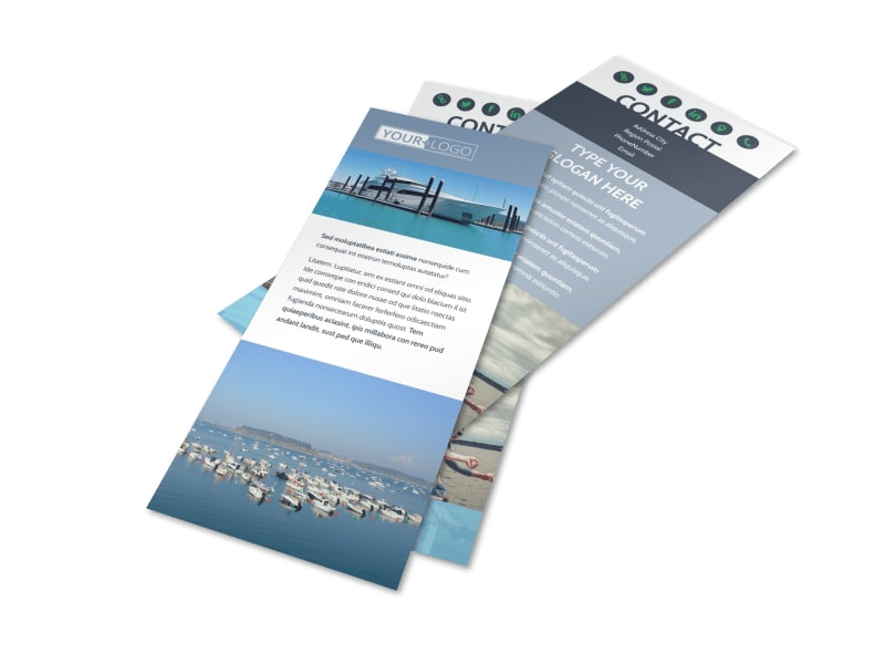 Marine Insurance Flyer Template MyCreativeShop - insurance flyer templates