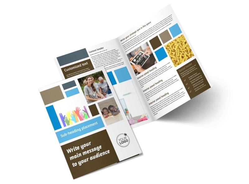 Food Pantry Brochure Template MyCreativeShop