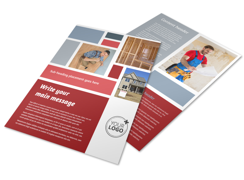 Education Door Hanger Template House | European Curriculum Vitae