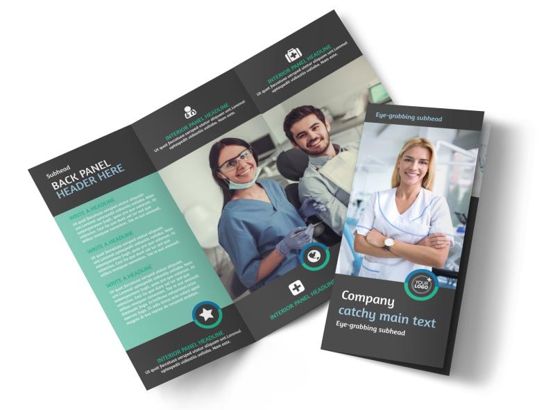 Elite Dental School Brochure Template MyCreativeShop