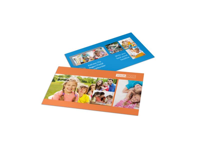 Babysitting Business Card Template MyCreativeShop