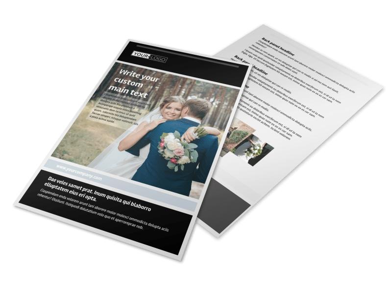 Wedding Planners Flyer Template MyCreativeShop
