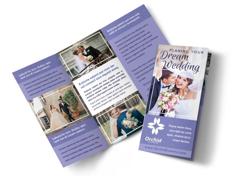 Wedding Planners Brochure Template MyCreativeShop