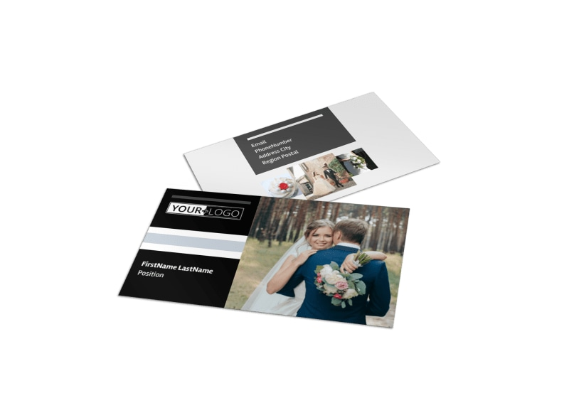 Wedding Planners Business Card Template MyCreativeShop