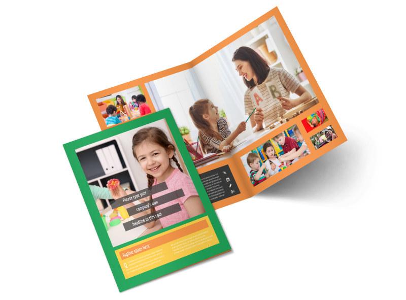 Preschool Brochure Template MyCreativeShop