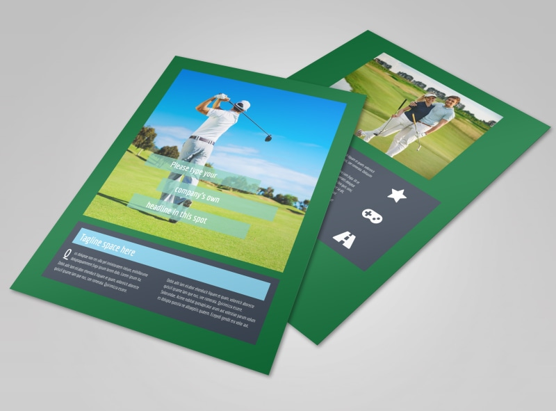Local Golf Tournament Flyer Template MyCreativeShop - golf tournament flyer template