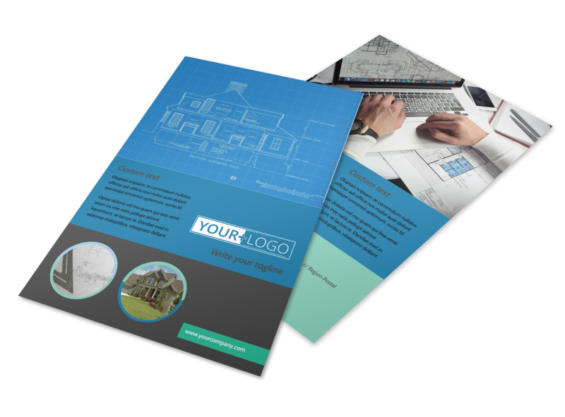 Home Building Contractor Flyer Template MyCreativeShop