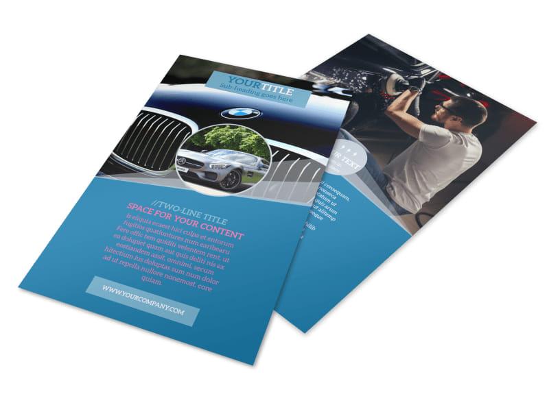 Auto Detailing Flyer Template MyCreativeShop