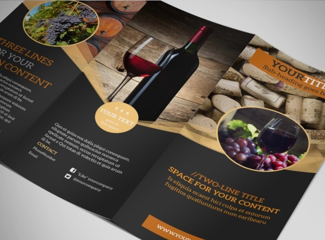 Vistaprint Brochures \/\/ more expensive then Bay Photo tri fold - advertising brochure template